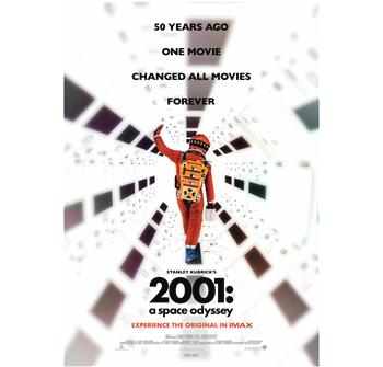 2001: A Space Odyssey IMAX billede