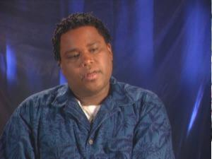 Anthony Anderson (Behind the scenes).