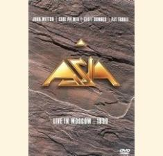 ASIA – Live in Moscow 1990 billede