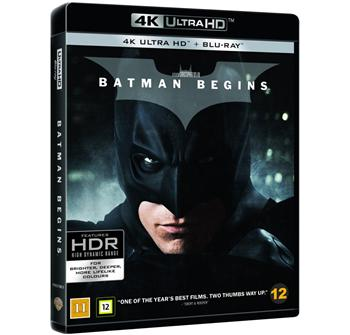 Batman Begins 4K Ultra HD billede