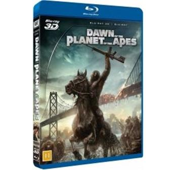 Dawn of the Planet of the Apes 3D billede
