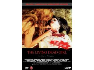 Det Danske DVD cover til The living dead girl.
