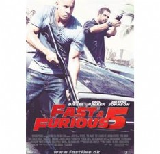 Fast and Furious 5 billede