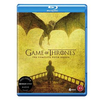 Game Of Thrones - The Complete Fifth Season billede