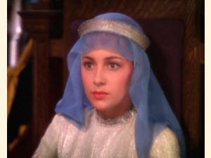 Olivia de Havilland som Maid Marian.