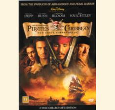 Pirates of The Caribbean, Den sorte forbandelse (DVD) billede