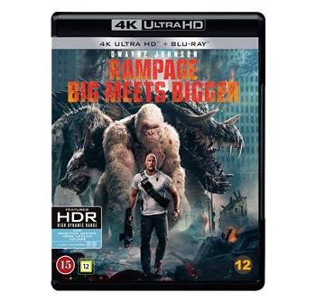 Rampage: Big Meets Bigger (4K UHD) billede