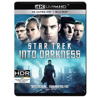 Star Trek Into Darkness (UHD + Blu-Ray) billede