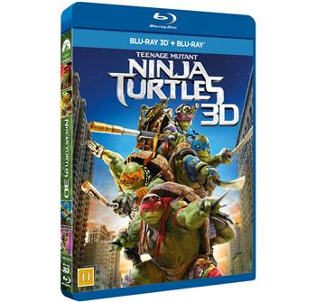 Teenage Mutant Ninja Turtles 3D billede