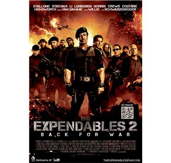 The Expendables 2 billede