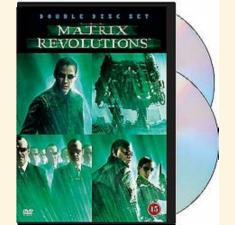 The Matrix Revolutions (DVD) billede