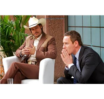 Westray (Brad Pitt) & The Counselor (Michael Fassbender)